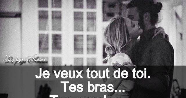 Favorit Phrase d'amour & meilleurs SMS romantique | Poème d'amour SMS  OT69