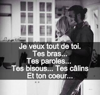 Poème d'amour romantiques