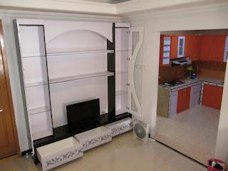 Desain Rak TV Minimalis - Furniture Semarang