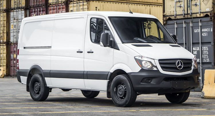 Mercedes sprinter 4x4 price autos post for Mercedes benz sprinter price list