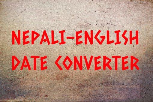 Nepali-English Date Converter