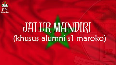 S2/S3 Jalur Mandiri (Khusus Alumni S1 Maroko)