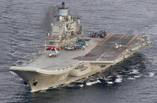 Russia's Only Aircraft Carrier Is in Serious Trouble