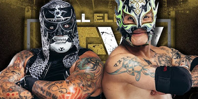 Rey Fenix Possibly Injured, Taz Signs New Contract With AEW