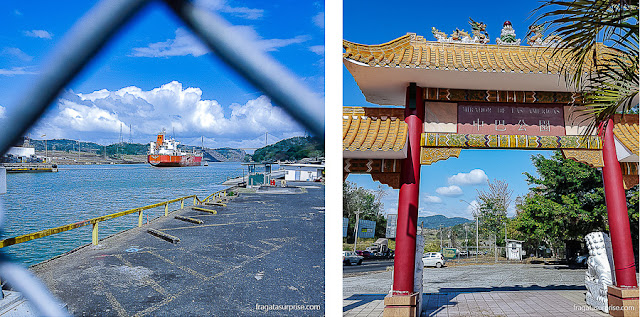 Canal do Panamá: Mirante das Américas e Eclusas de Pedro Miguel
