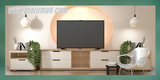 Ide Desain Ruang TV Terbaik 2021 - kombinasi industrial yang unik