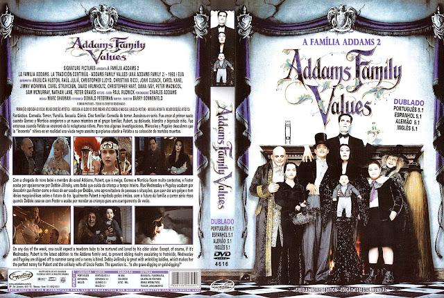 Capa DVD A Família Addams 2