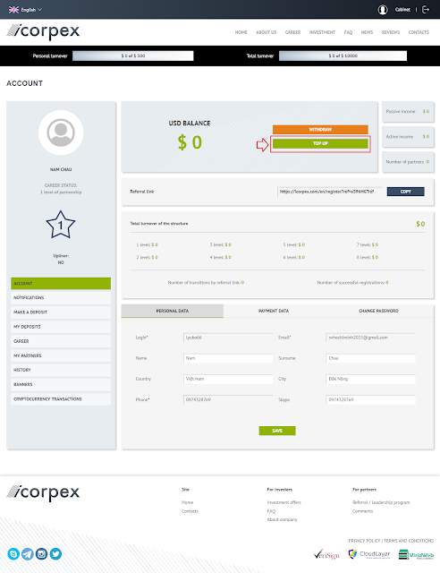 Review Icorpex