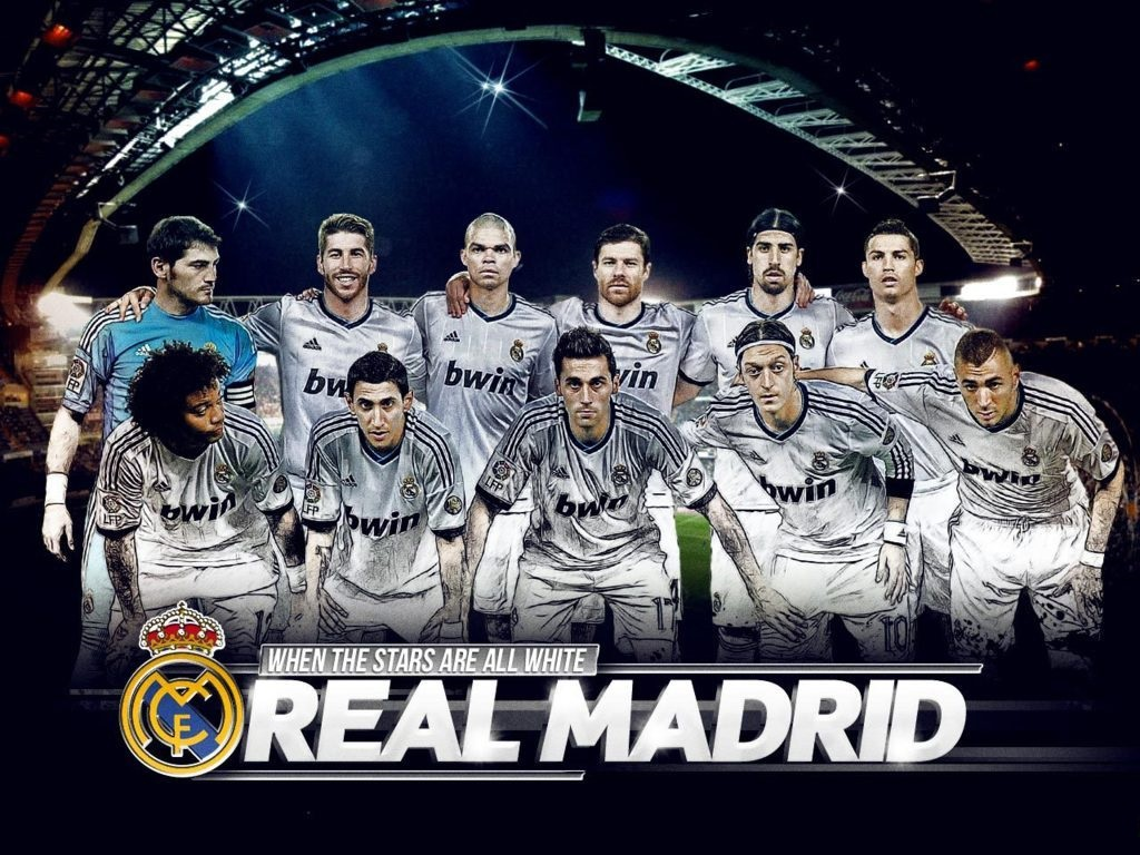 Football Real Madrid 2013 Wallpapers Hd