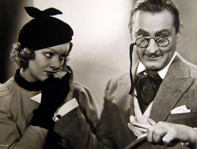 1933. Myrna Loy, John Barrymore - Topaze