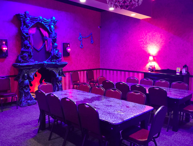 Looking to host a party? This is the place, inside of Monster Mini Golf.
