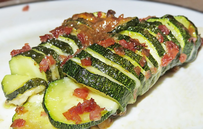 Rezept Hasselback Zucchini