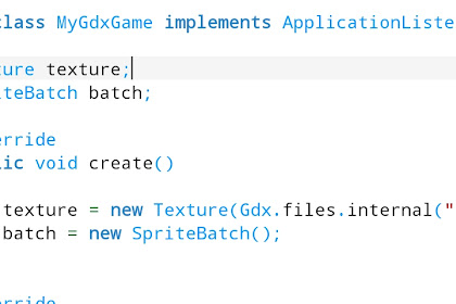 Membuat Program Sederhana Menggunakan Java Di AIDE