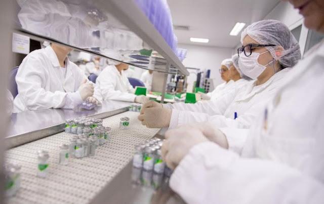 Laboratório do Instituto Butantan – Foto: Divulgação/Governo SP
