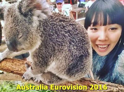 eurovision 2016 Biografia DAMI IM cu SOUND OF SILENCE