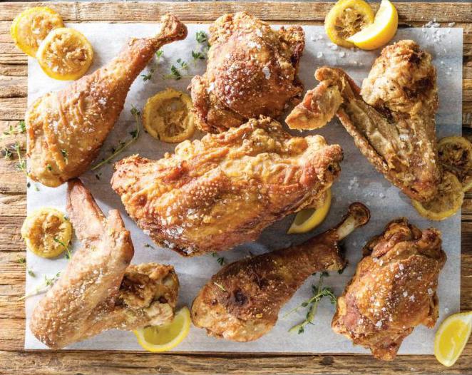 Sweet Tea-Brined Fried Turkey MAKES 6 TO B SERVINGS