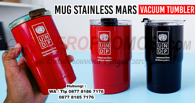 Mug Stainless Mars Vacuum Tumbler, Mars Vacuum Mug Tumbler, Grosir Souvenir Mug Promosi