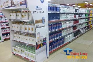 Vì sao nên chọn giá kệ siêu thị bằng thép