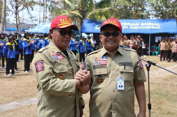 Plt.Bupati Nanang Ermanto di Kukuhkan Sebagai Pembina Taruna Siaga Bencana (TAGANA)   Lamsel.