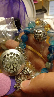 TWO SALVES AND AN OIL LOCKETS AND EOS