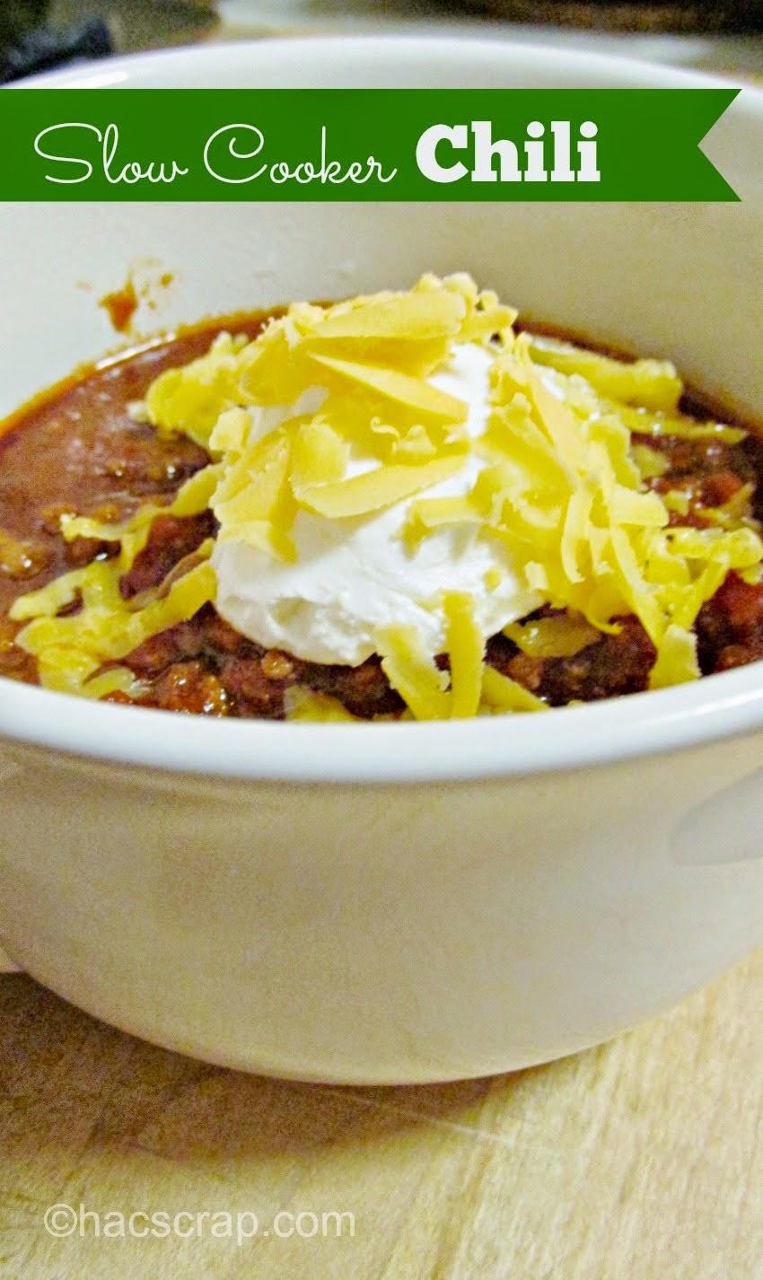 slow cooker, crockpot, chili, dinner