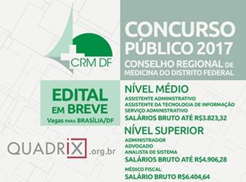 Concurso CMF-DF 2017