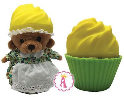 Медвежонок в кексе Лимонный тарт