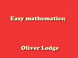Easy mathematics;
