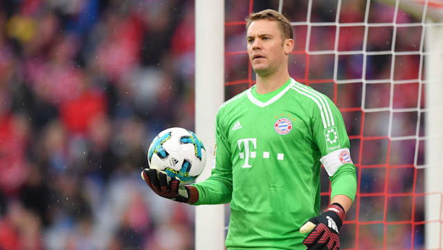 Neuer to play in fifa 2018