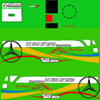 Download Livery Bus Sentosa
