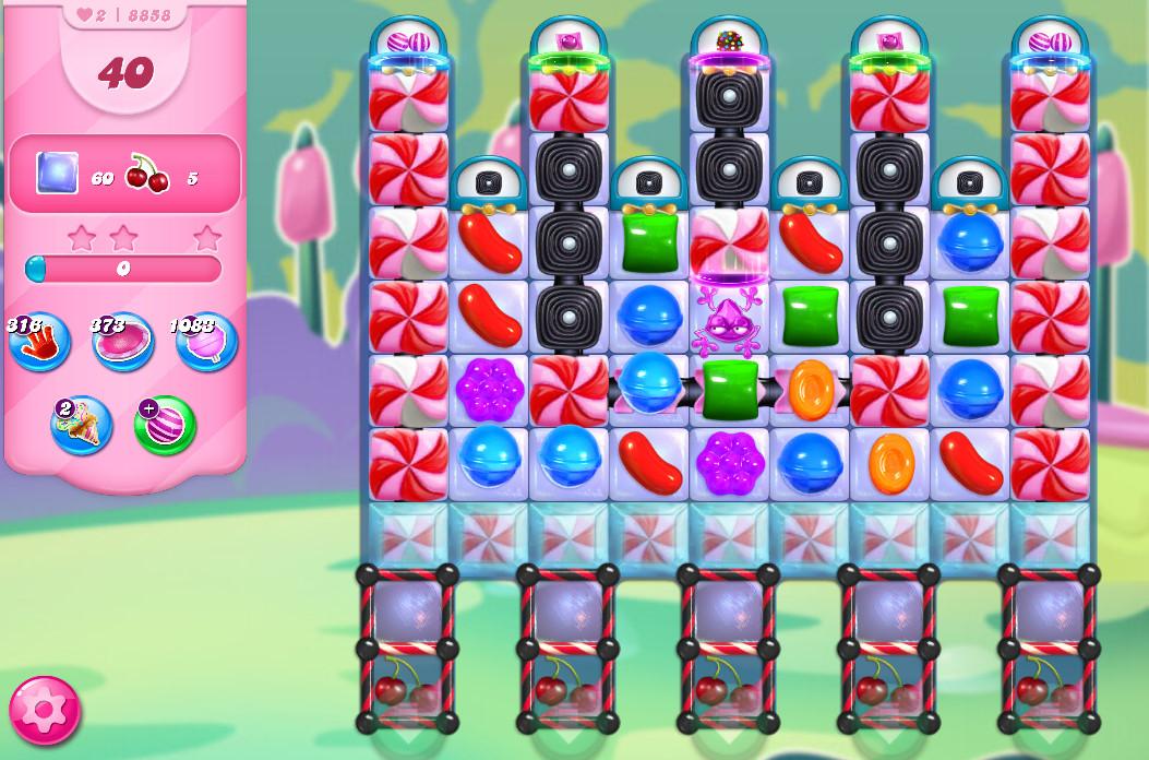Candy Crush Saga level 8858