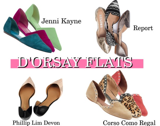 SPRING 2013 TRENDS || D'ORSAY FLATS