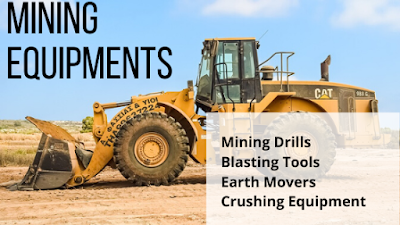 types of mining equipment