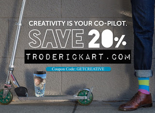 Get Creative and Save www.troderickart.com