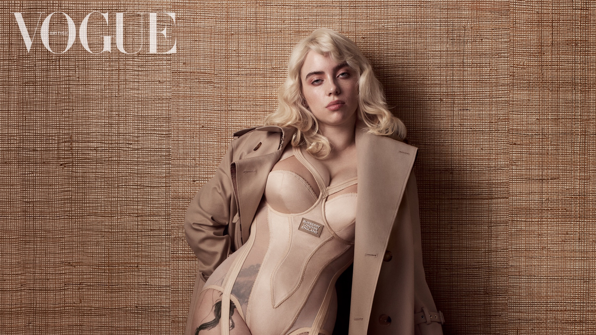 Billie Eilish looks incredible gracing the cover of British Vogue