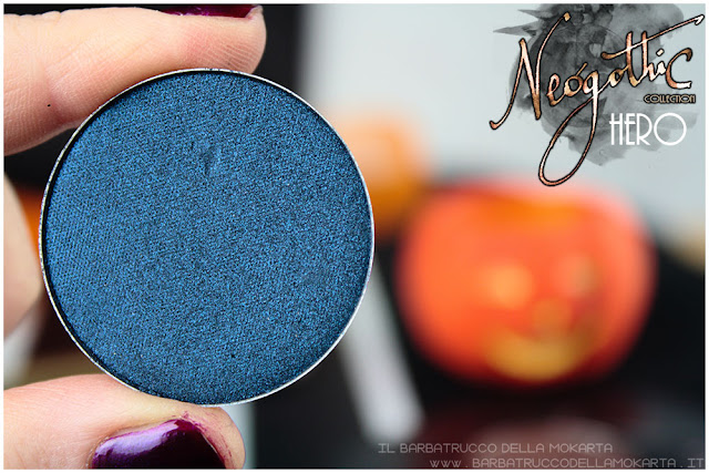hero eyeshadow neogothic collection neve cosmetics