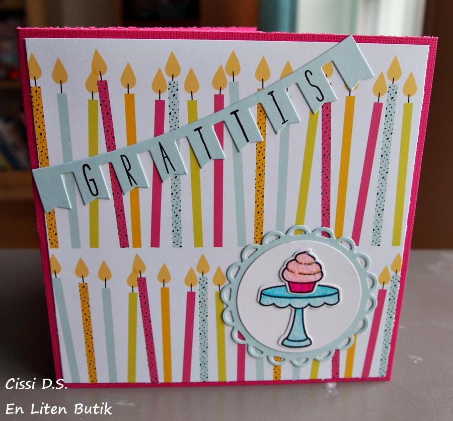 fina födelsedagskort En liten butik: Två födelsedagskort från samma papper fina födelsedagskort