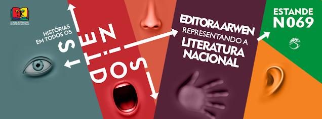 Banner da Bienal Internacional do Livro