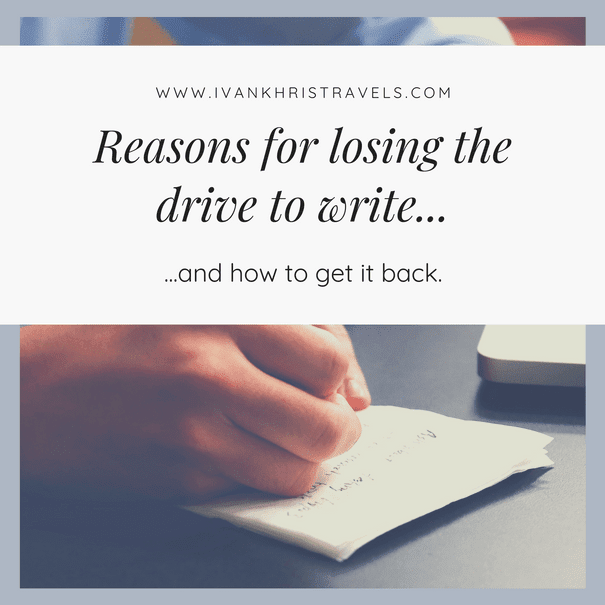 Back to Blogging: 5 Ways on How I Regained My Drive to Write