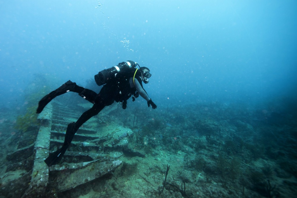 Key Largo Scuba Diving Wrecks