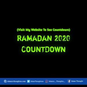 Ramadan Countdown 2020 | Countdown To Ramadan 2020