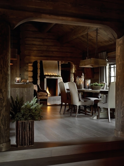 30 rustic chalet interior design ideas architecture for Interior design