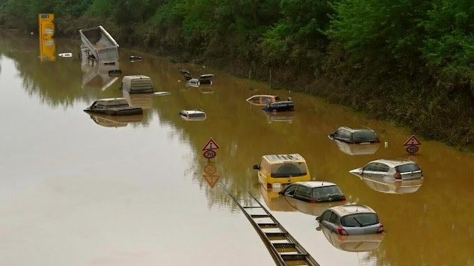 Ítéletidő Nyugat-Európában: Bécsben egy óra alatt több eső esett, mint két hónap alatt