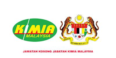 Jawatan Kosong Jabatan Kimia Malaysia 2019