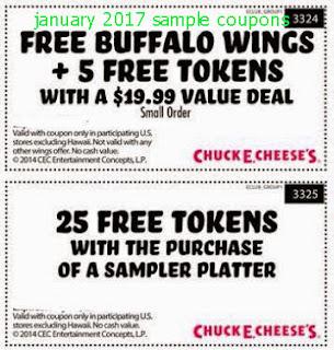 Chuck E Cheese Coupons