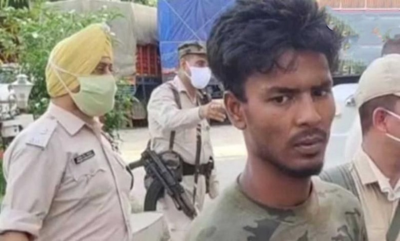 Rapist attacked the Assam police and tried to flee, but were shot by the jawans