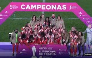 Atletico Feminas campeonas supercopa