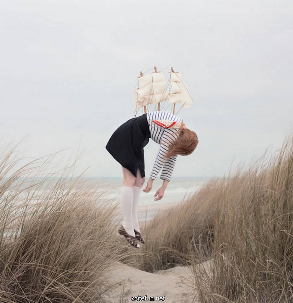 amazing strange air fantastic wallpapers surreal funny maia flore dream floating away flying surrealism artist imagery breathtaking dreaming interesting dreams