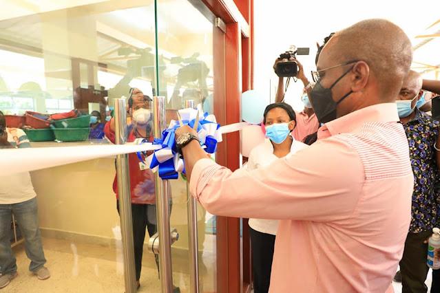Mariakani hospital new blocks opening photo