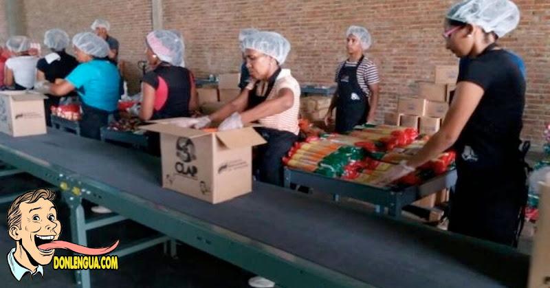 55 empaquetadores de cajas CLAP se encuentran contaminados por el virus